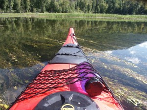 Peaceful section on the Slocan River